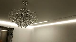 Парящие линии с регулируемым количеством подсветки